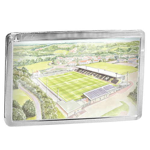 Forest Green Rovers Football Club - The New Lawn Stadium - Fridge Magnet