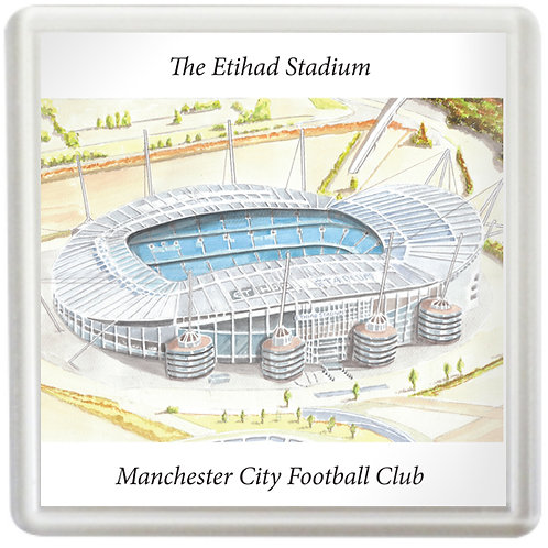 Manchester City - The Etihad Stadium - Coaster