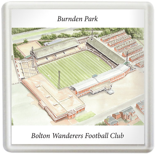 Bolton Wanderers - Burnden Park - Coaster