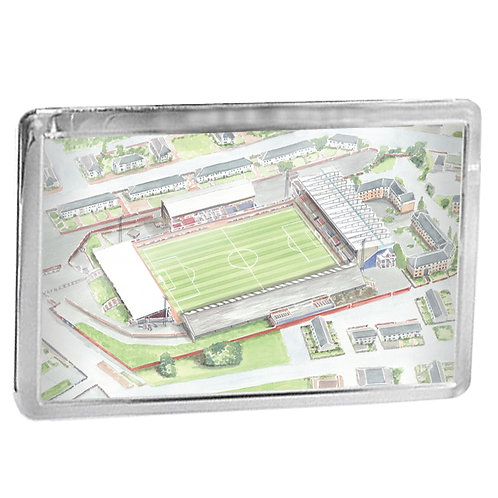 St Mirren - Love Street Stadium - Fridge Magnet