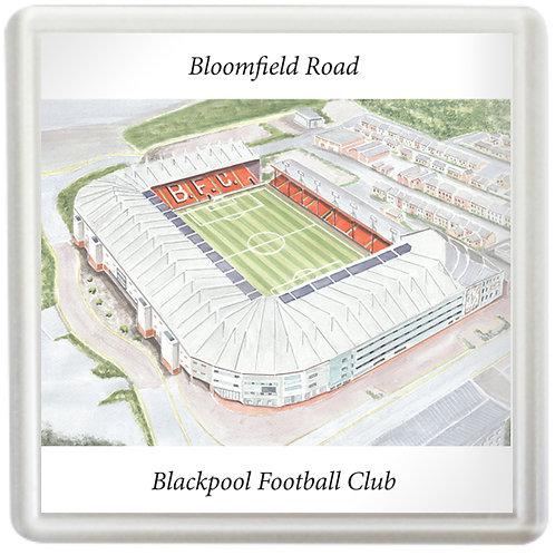 Blackpool Football Club - Bloomfield Road - Coaster