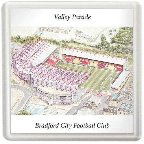 Bradford City Football Club - Valley Parade - Coaster