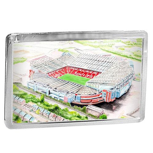 Manchester United - Old Trafford - Fridge Magnet