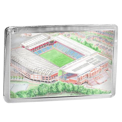 Aston Villa - Villa Park - Fridge Magnet