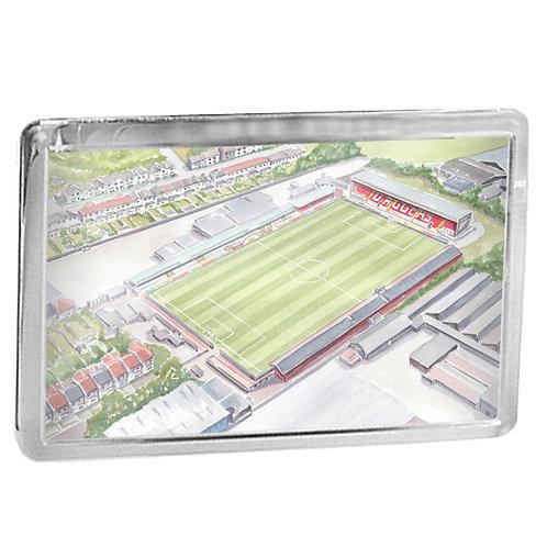 Dagenham and Redbridge FC - Victoria Road Stadium - Fridge Magnet