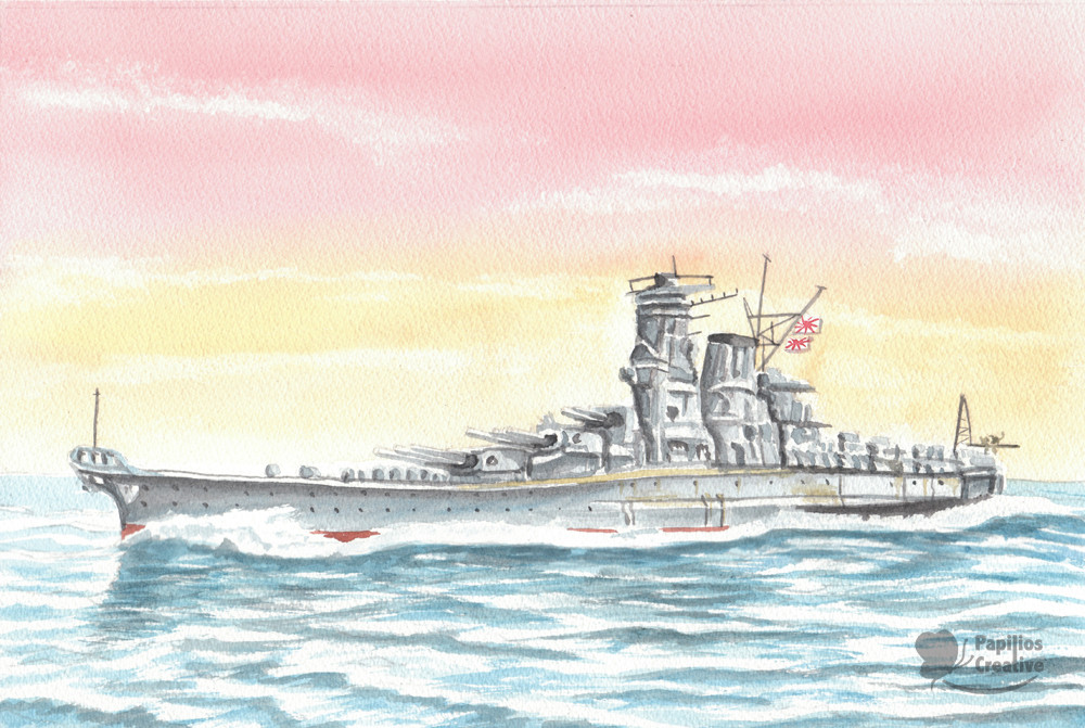 Japanese Battleship Yamato