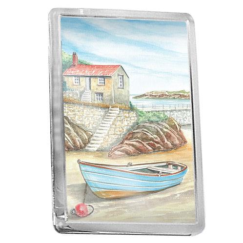 Fisherman's Cottage - Fridge Magnet