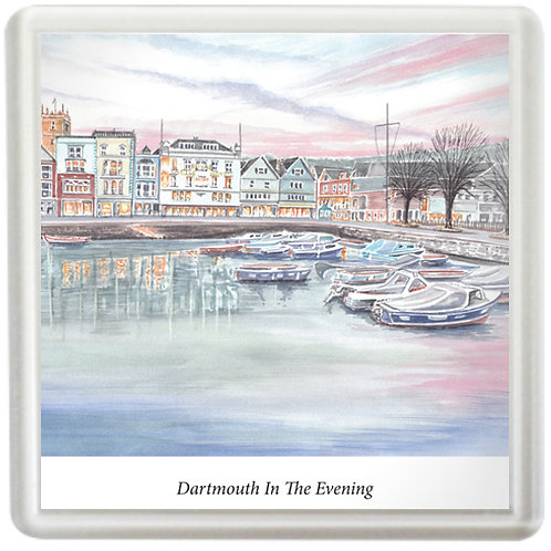 Dartmouth In The Evening - Coaster