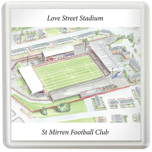 St Mirren - Love Street Stadium - Coaster