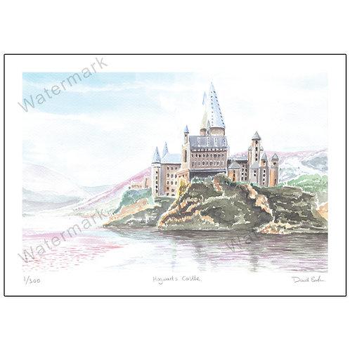 Hogwarts Castle, Print A4
