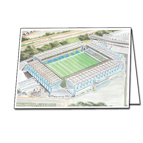 Millwall - The New Den - Greetings Card Landscape, A5/A6