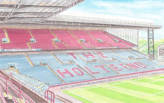 The Holte End - Aston Villa Football Club