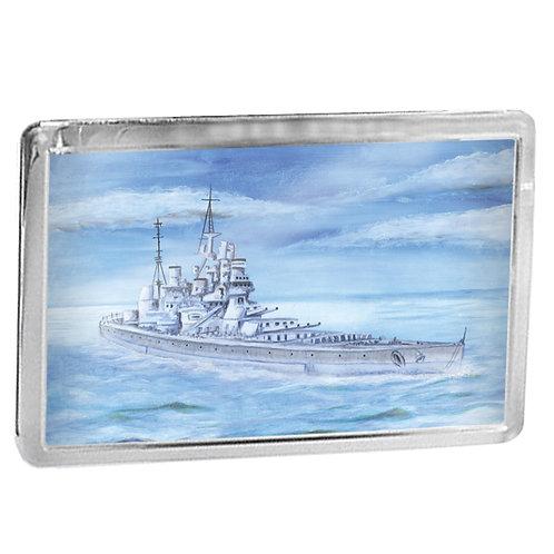 HMS King George V - Fridge Magnet