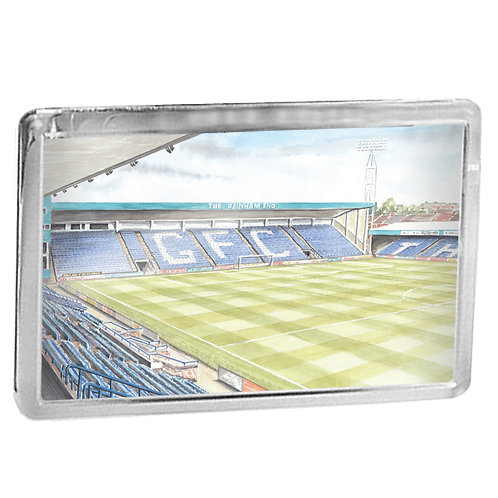 Gillingham Football Club - The Rainham End - Fridge Magnet