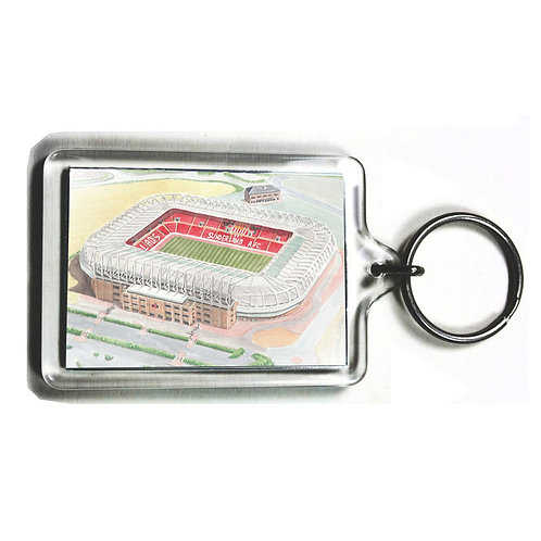 Sunderland AFC - Stadium Of Light - Keyring