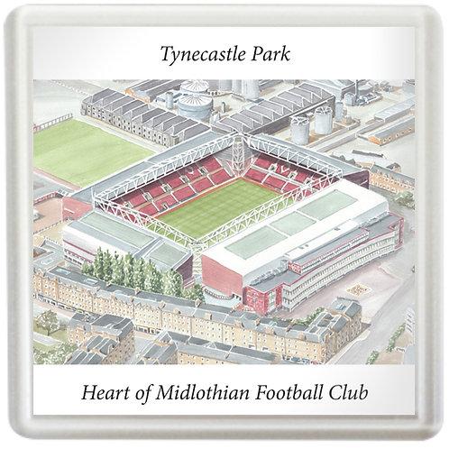 Heart of Midlothian Football Club - Tynecastle Park - Coaster