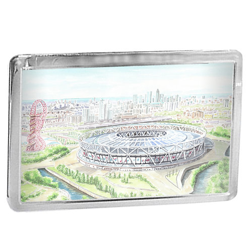 West Ham United - The London Stadium - Fridge Magnet