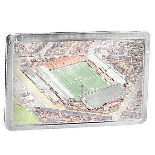 Sunderland AFC - Roker Park - Fridge Magnet