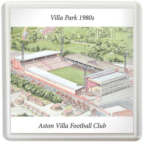 Aston Villa - Villa Park 1980s - Coaster