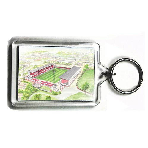 Swindon Town - The County Ground - Keyring