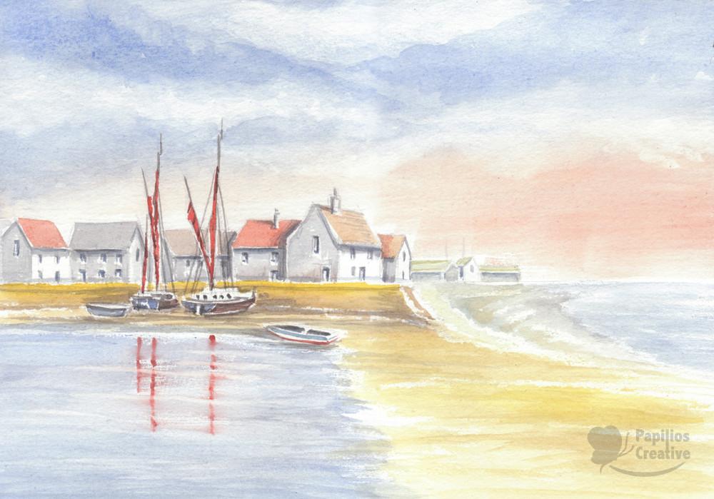 Norfolk Fishing Village
