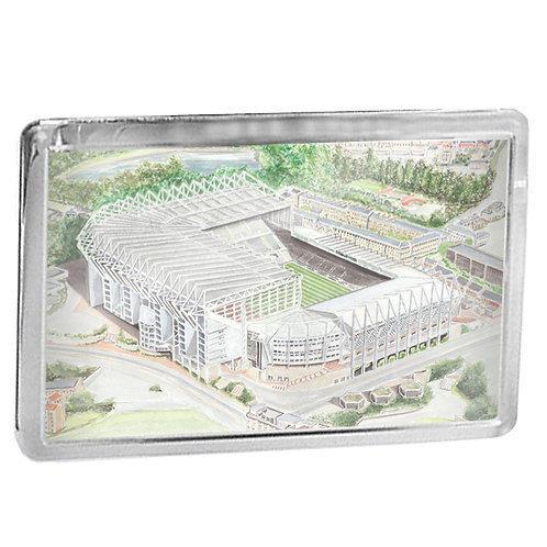 Newcastle United - St James Park - Fridge Magnet