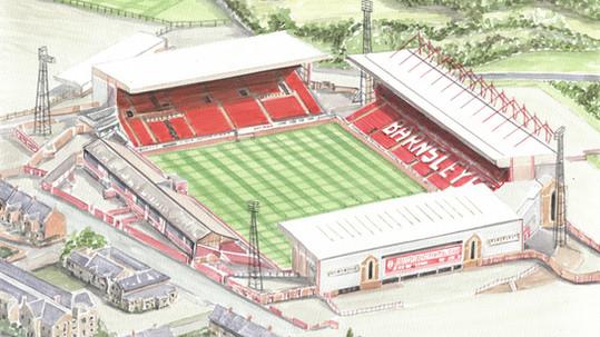 Barnsley FC - Oakwell Stadium