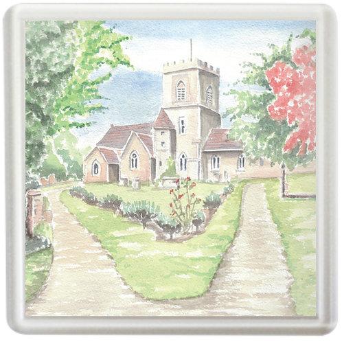 St George's Church, Brockworth - Coaster