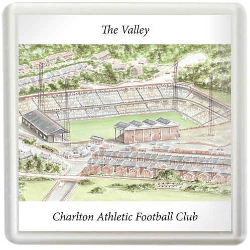 Charlton Athletic Football Club - The Old Valley - Coaster