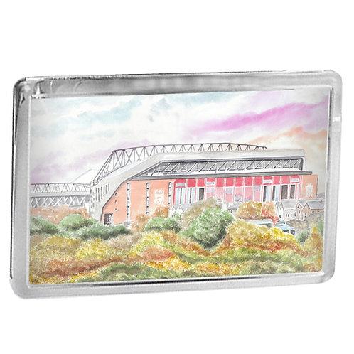 Liverpool - Anfield Outside - Fridge Magnet