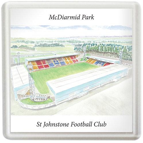 St Johnstone - McDiarmid Park - Coaster