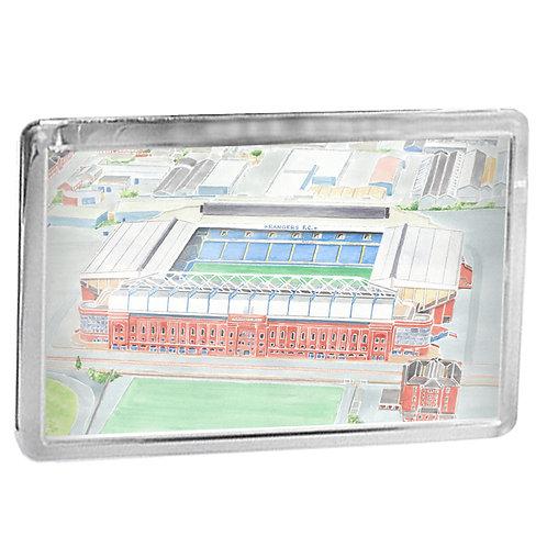 Rangers - Ibrox Stadium - Fridge Magnet