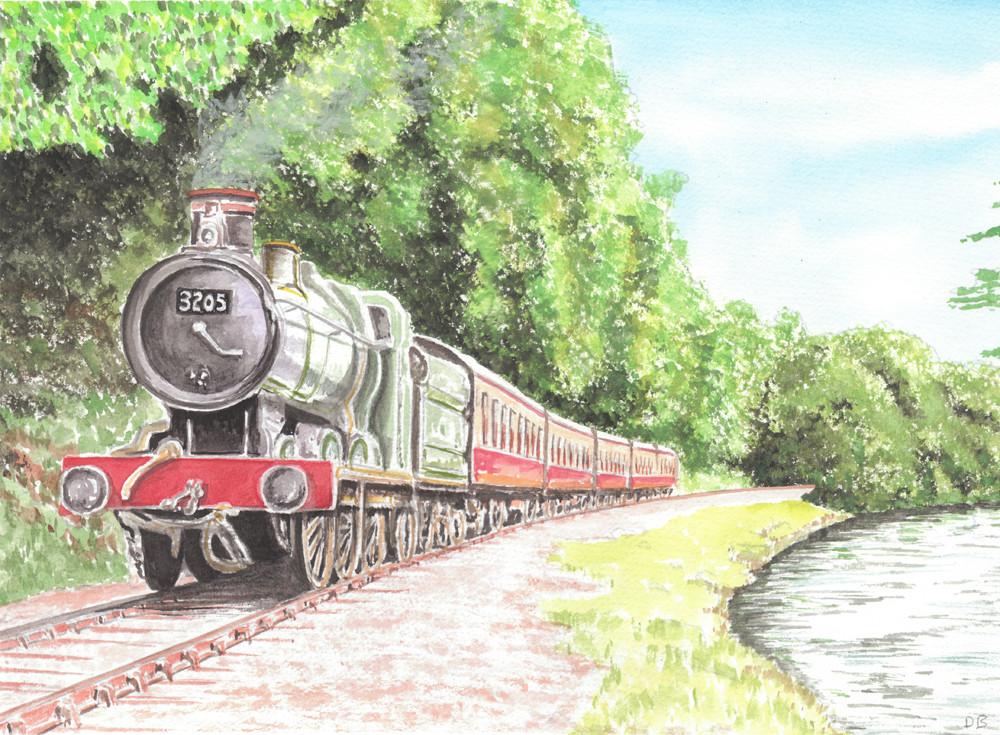 Totnes to Buckfastleigh Steam Railway