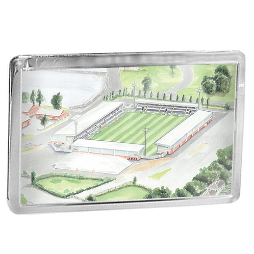 St Mirren Football Club - St Mirren Park - Fridge Magnet