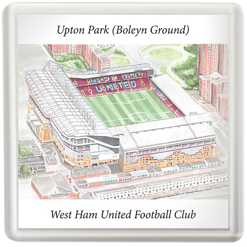 West Ham United - Upton Park - Coaster