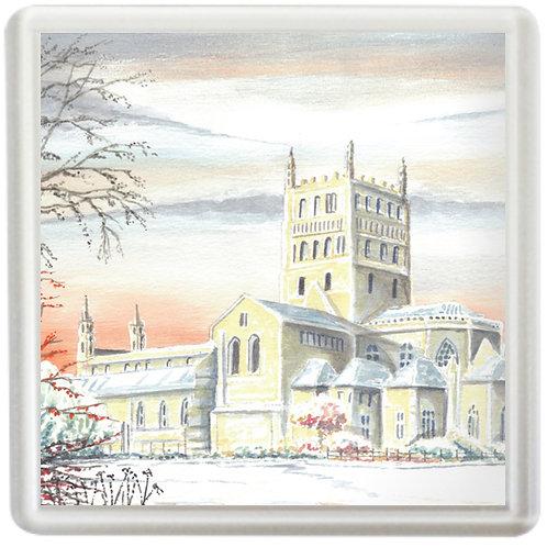 Tewkesbury Abbey - Coaster
