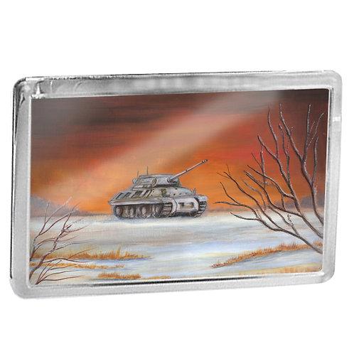 American Jackson Tank - Fridge Magnet
