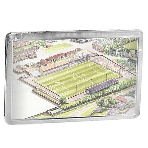 East Fife FC - Bayview Park - Fridge Magnet