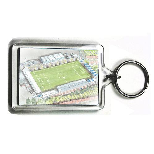 Bristol Rovers Football Club - Memorial Stadium - Keyring