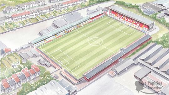 Football-Stadium - Dagenham-and-Redbridg