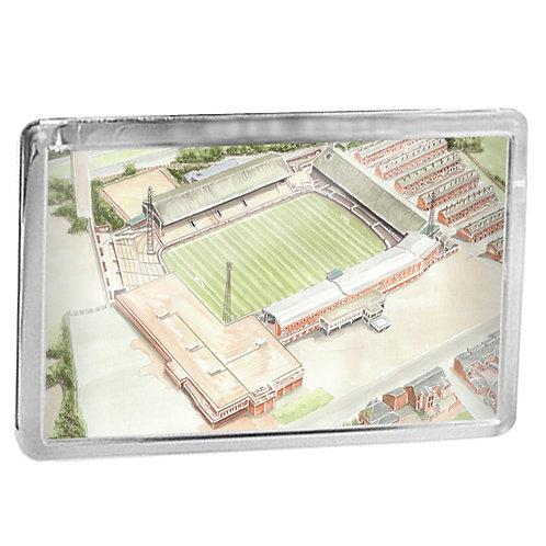 Bolton Wanderers - Burnden Park - Fridge Magnet