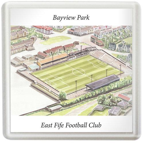 East Fife FC - Bayview Park - Coaster
