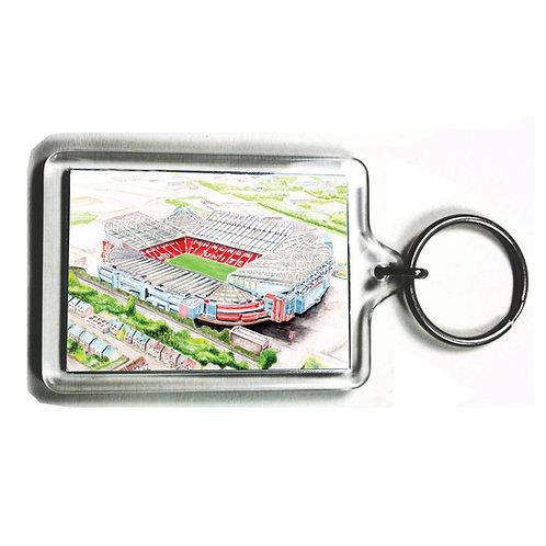 Manchester United - Old Trafford - Keyring