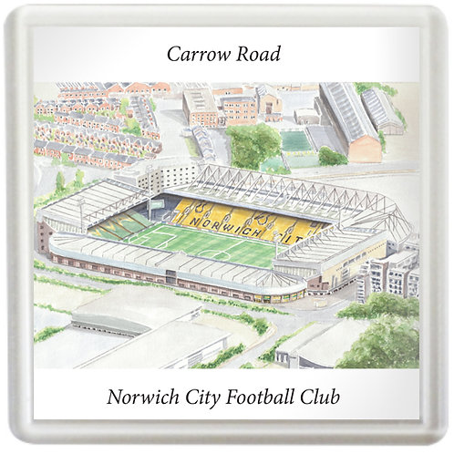 Norwich City FC, Carrow Road  - Coaster