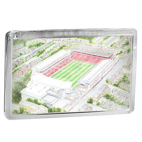 Arsenal - Arsenal Stadium, Highbury - Fridge Magnet