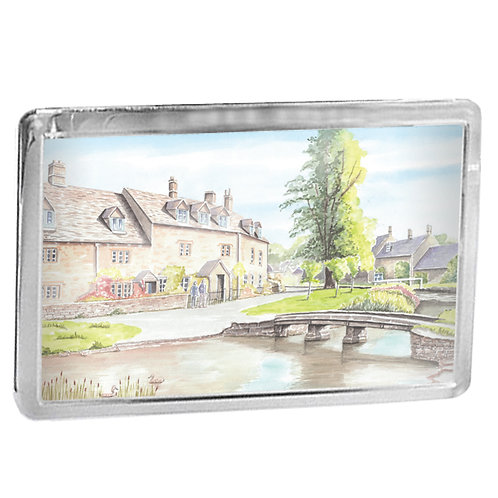 Lower Slaughter - Fridge Magnet