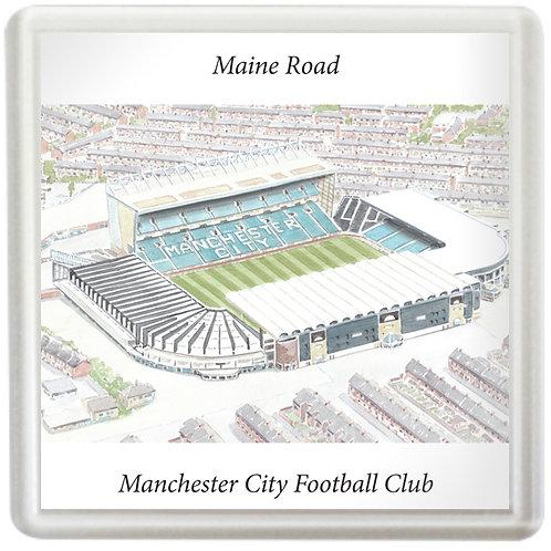 Manchester City Football Club - Maine Road, Coaster