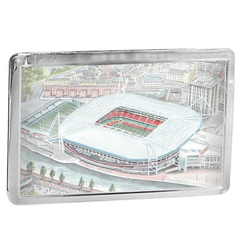The Principality Stadium, Cardiff - Fridge Magnet