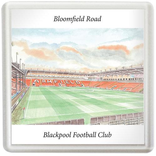 Blackpool Football Club - Inside Bloomfield Road - Coaster