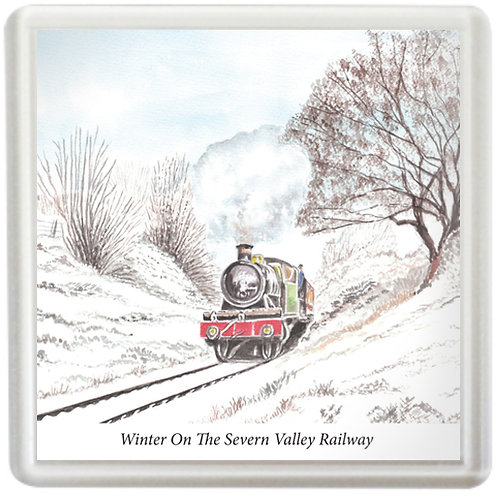 Winter On The Severn Valley - Coaster